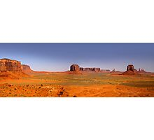 Desert landscape in the Arizona Photographic Print
