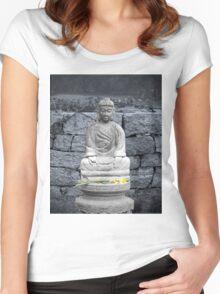 Peace Garden Women's Fitted Scoop T-Shirt