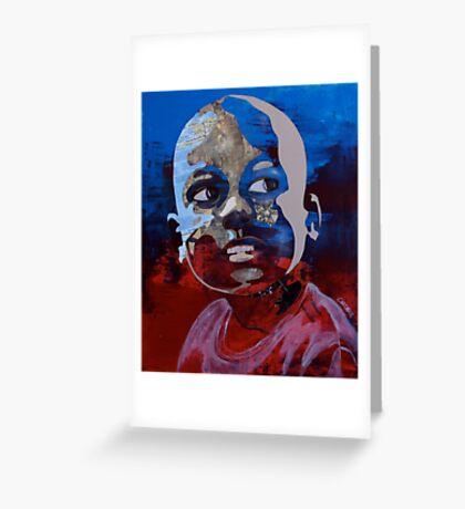 Haiti (hope for the children) Greeting Card