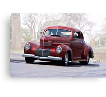 1939 Chrysler Royal Coupe II Canvas Print