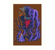Demon and Child Art Print