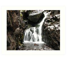 Macey Falls - Sangre de Cristo Mountains Art Print