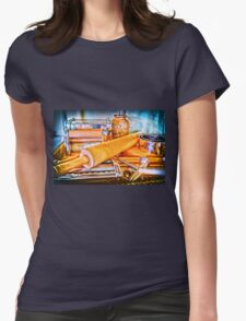 Pasta Tools Womens Fitted T-Shirt