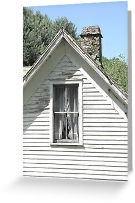 The Upstairs Window by Jean Gregory  Evans