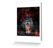 Black Magic Woman Greeting Card