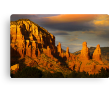 Red rock hills in Sedona Canvas Print