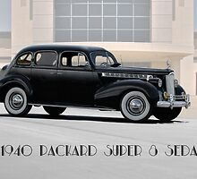 1940 Packard Super 8 Sedan w Text by DaveKoontz