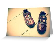 Angels Shoes Greeting Card