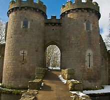 Whittington Castle #2 by Sheila Laurens