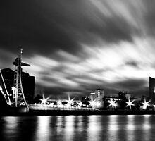 Quays by night... by ASBO-Allstar