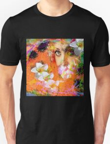 """"""" The queen of flowers """" Unisex T-Shirt"""