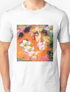 """ The queen of flowers "" Unisex T-Shirt"