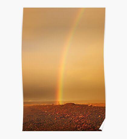 Rainbow shores. Poster