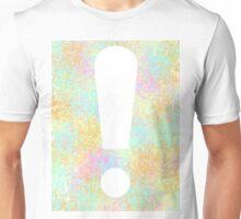 Color Splash Exclamation Unisex T-Shirt