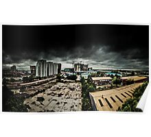 Stormy Day - Salford Quays Poster