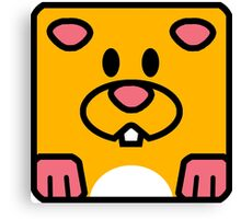 Cheeks the Hamster Canvas Print