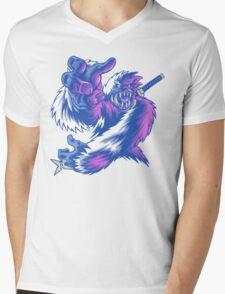 Just the Ninja Yeti Mens V-Neck T-Shirt