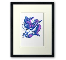 Just the Ninja Yeti Framed Print