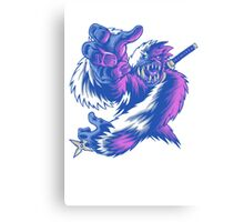 Just the Ninja Yeti Canvas Print