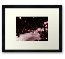 Street in Murcia  Framed Print