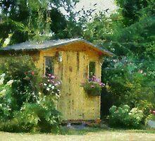 Garden Chalet by Gilberte