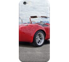 1966 Shelby Cobra 3Q Rear View iPhone Case/Skin