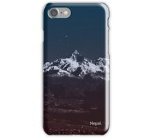 Nepal Case Mountains iPhone Case/Skin