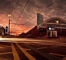 Manchester Sunset. by ASBO-Allstar