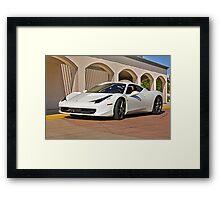 2010 Ferrari 458 Italia Framed Print