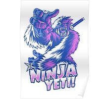 Ninja Yeti Poster