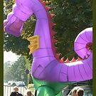 dragon in town by LisaBeth