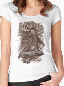 Adventure Cruises Parody Women's Fitted Scoop T-Shirt