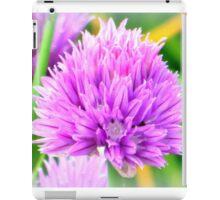 Chive flower iPad Case/Skin
