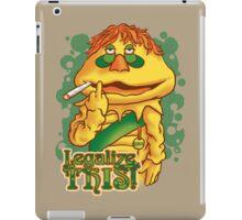 Legalize THIS Parody iPad Case/Skin