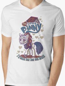My Little Pinny Parody Mens V-Neck T-Shirt