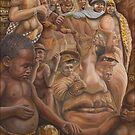 Nelson Mandela &#x27;&#x27;The shepherd and the shaman&#x27;&#x27;.   by Jerel Baker