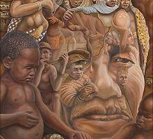 Nelson Mandela ''The shepherd and the shaman''.   by Jerel Baker