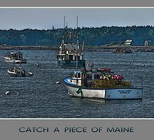 Catch a Piece of Maine by JHRphotoART