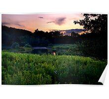 Quiet Sunset Poster