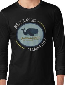 Two Whales Diner Tee (lighter) Long Sleeve T-Shirt