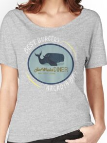 Two Whales Diner Tee (lighter) Women's Relaxed Fit T-Shirt