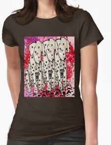 Our new spots Womens Fitted T-Shirt