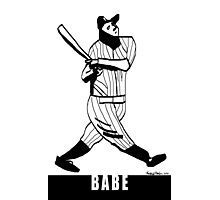 Babe Ruth Photographic Print