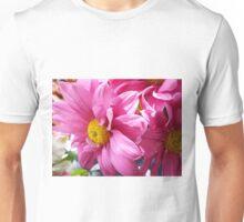 Magenta Florals Unisex T-Shirt