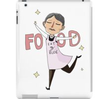 Food Is Important iPad Case/Skin