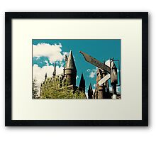 Harry Potter Hogwarts Framed Print