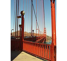 San Fransico Bridge Photographic Print