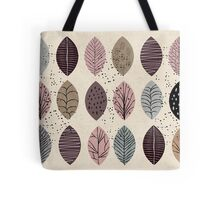 Nature Inspired Leaves  Tote Bag