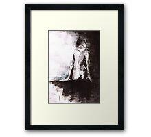 Female nude Framed Print
