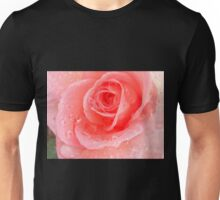 Peach Rose Blossom Unisex T-Shirt